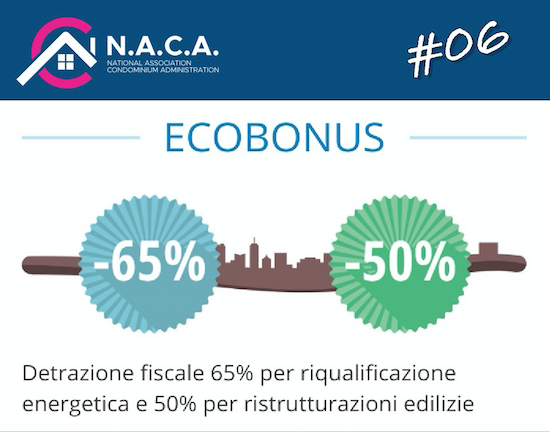 ottenere ecobonus NACA