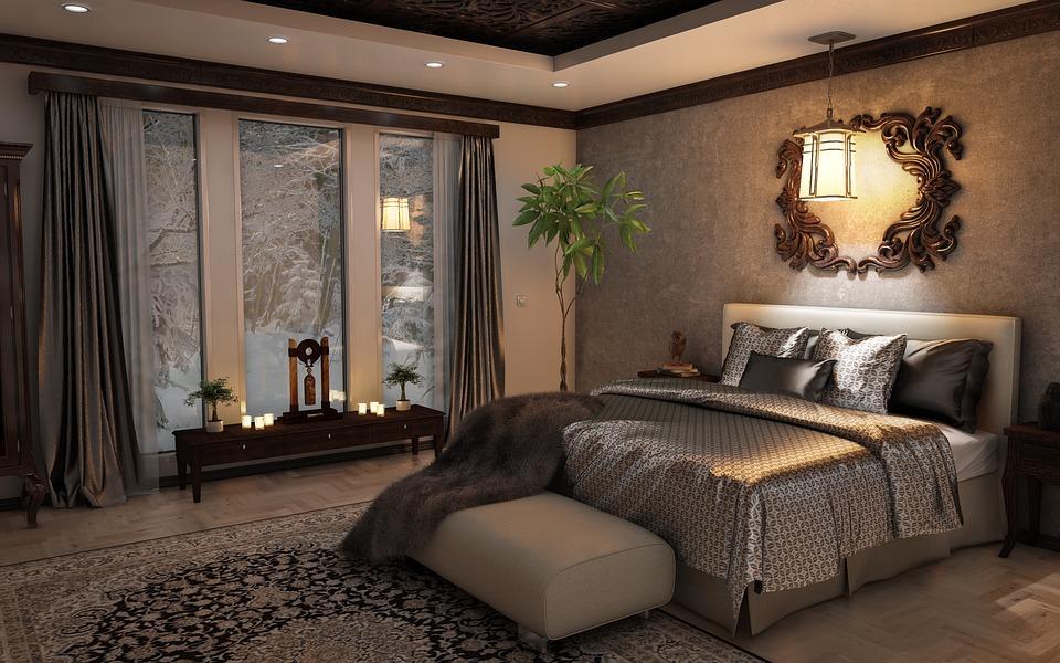 Camera calda accogliente