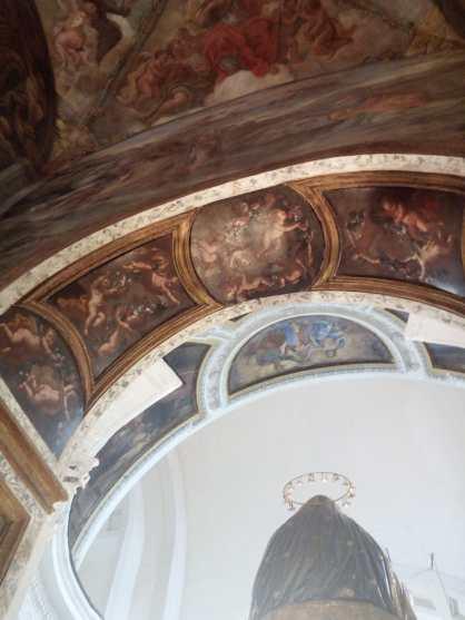 lato posteriore Altare Maggiore