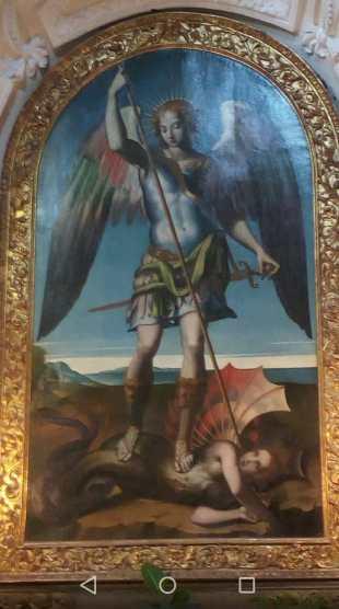 Dipinto Il Diavolo di Mergellina