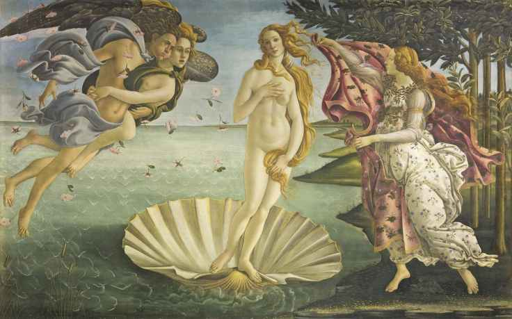 Nascita di Venere - Botticelli